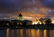 Capitol-Sunset