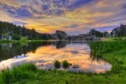 Sylvan-Lake-Sunset